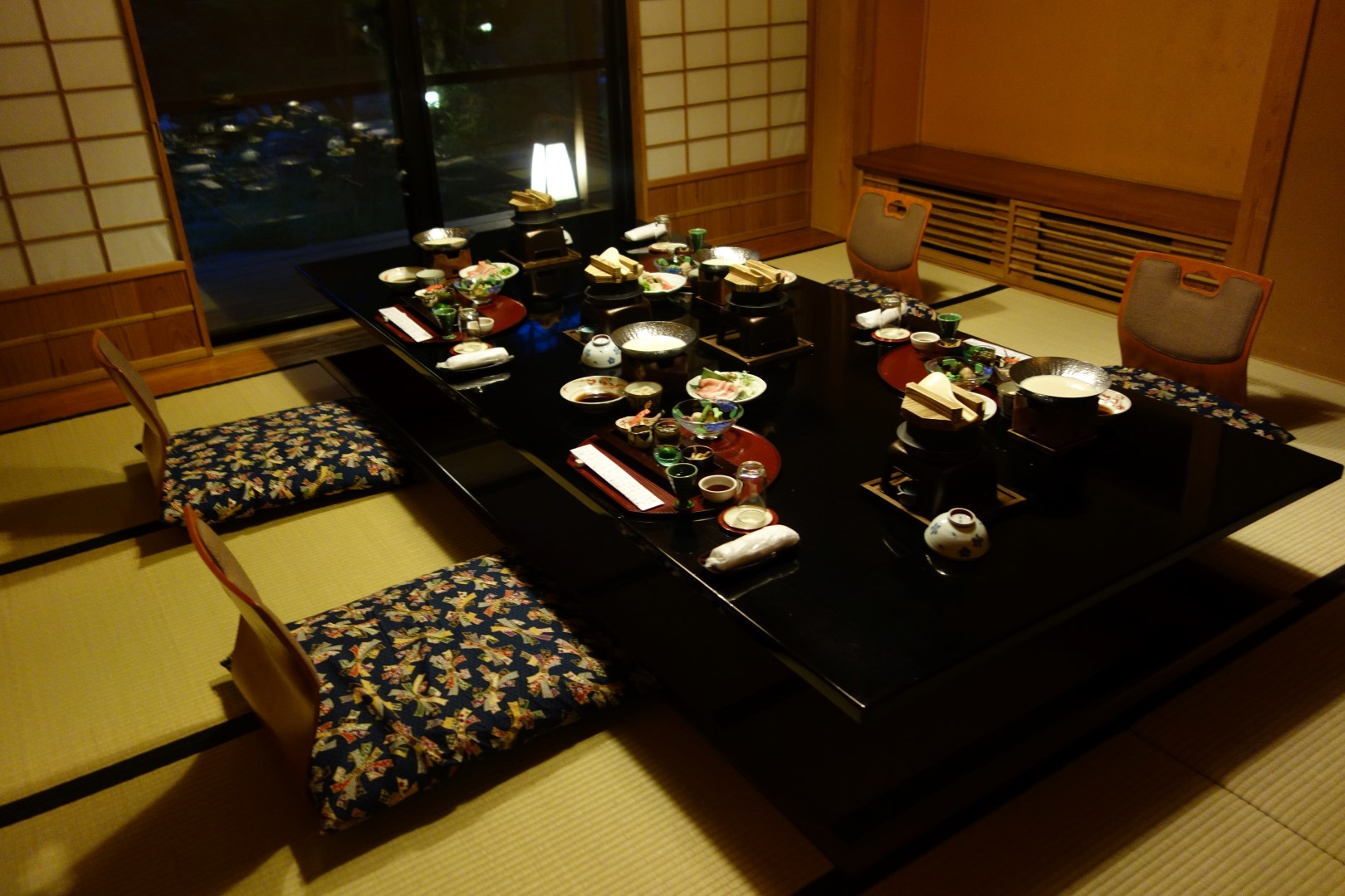 Traditional Japanese Dining Table on kaiseki dining: the most beautiful meal of my life. | bonnie bites